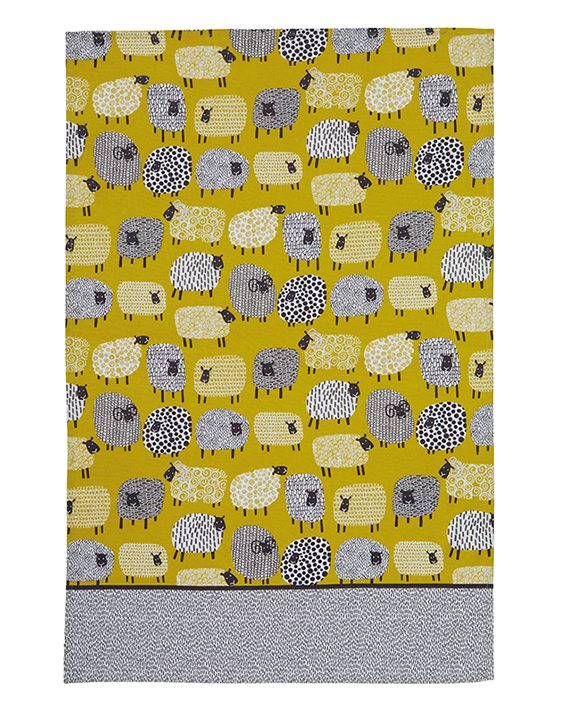 Ulster Weavers Dotty Sheep Cotton Tea Towel