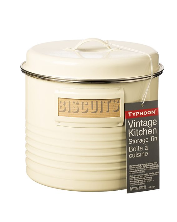 Typhoon Vintage Kitchen Cream Large Storage Canister