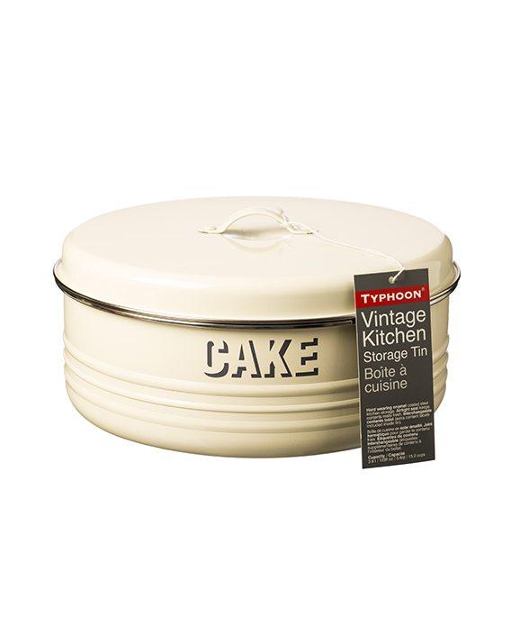 Typhoon Vintage Kitchen Cream Cake Tin