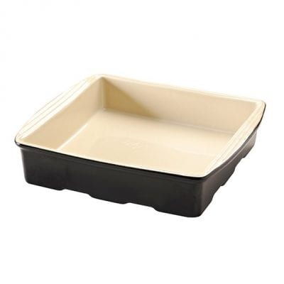 Mason Cash Perfect Black 29cm Square Dish