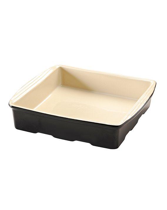 Mason Cash Perfect Black 29cm Square Dish