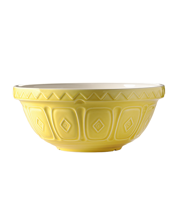 Mason Cash COLOURED YELLOW S18 (26CM) MIXING BOWL
