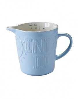 Mason Cash Bake My Day Blue 1 Litre Measuring Jug