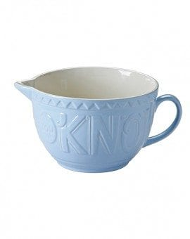 Mason Cash Bake My Day Blue Batter Bowl