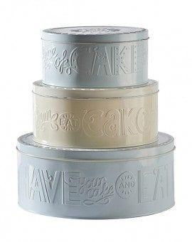 Mason Cash Bake My Day Set of 3 Cake Tins