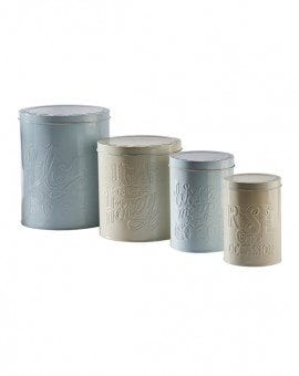 Mason Cash Bake My Day Set of 4 Baking Storage Tins