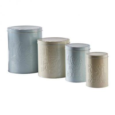 Mason Cash Bake My Day Set of 4 Baking Storage Tins