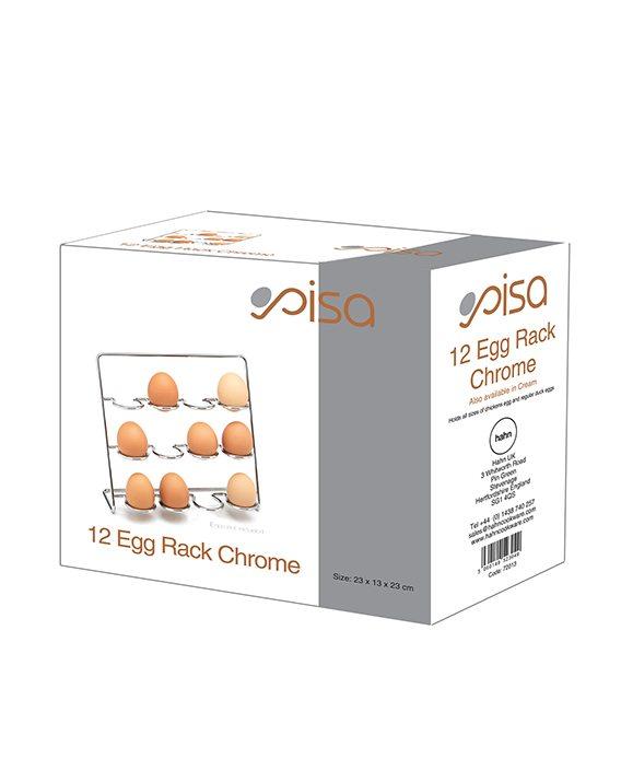 Hahn Pisa 12 Egg Rack Chrome Box
