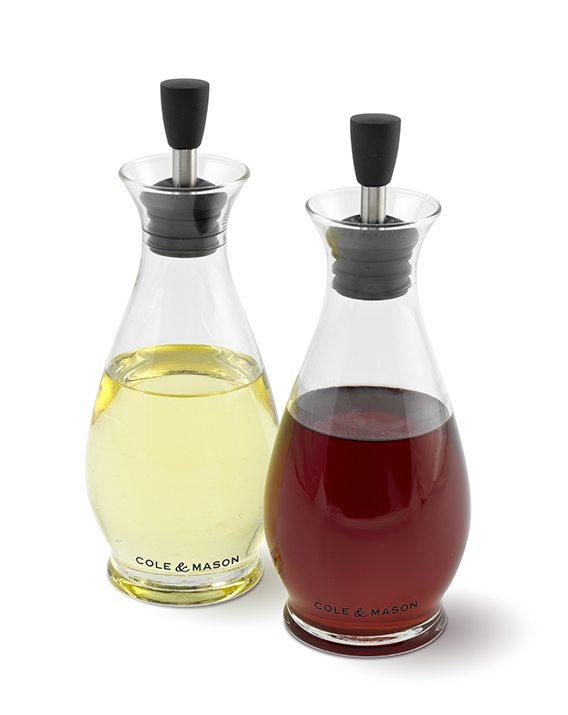 Cole & Mason Classic Oil & Vinegar Pourer Gift Set