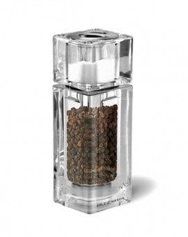 Cole & Mason Precision Cube Acrylic Combi Pepper Mill & Salt Shaker