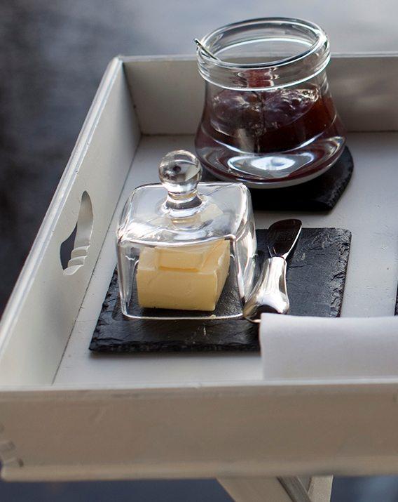 Just Slate Mini Butter Cloche & Knife