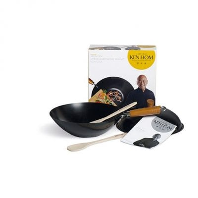 Ken Hom 31cm Non-Stick 5 Piece Wok Set