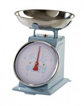 Mason Cash Bake My Day Blue Kitchen Scales