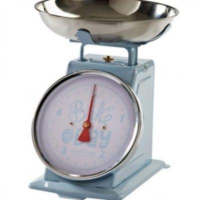 Mason Cash Bake My Day Blue Kitchen Scales
