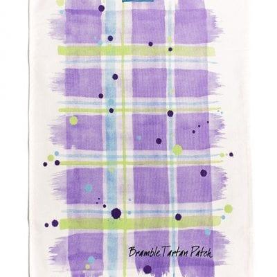 Scott Inness Bramble Tartan Tea Towel