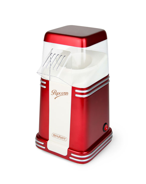 SMART Retro Mini Hot Air Popcorn Maker