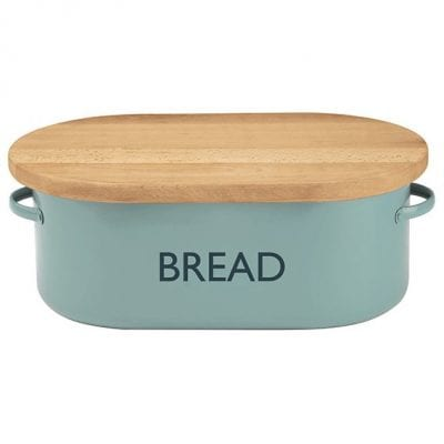 Typhoon Vintage Kitchen Blue Bread Bin 1400.655