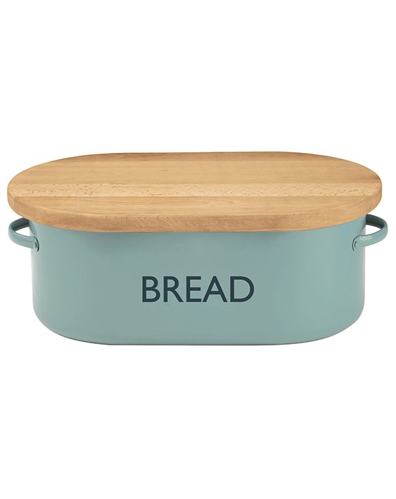Typhoon Vintage Kitchen Blue Bread Bin 1400.655